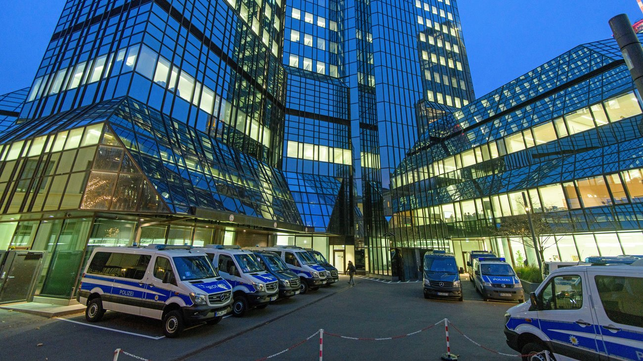 Deutsche Bank sinking after another raid amid money laundering probe
