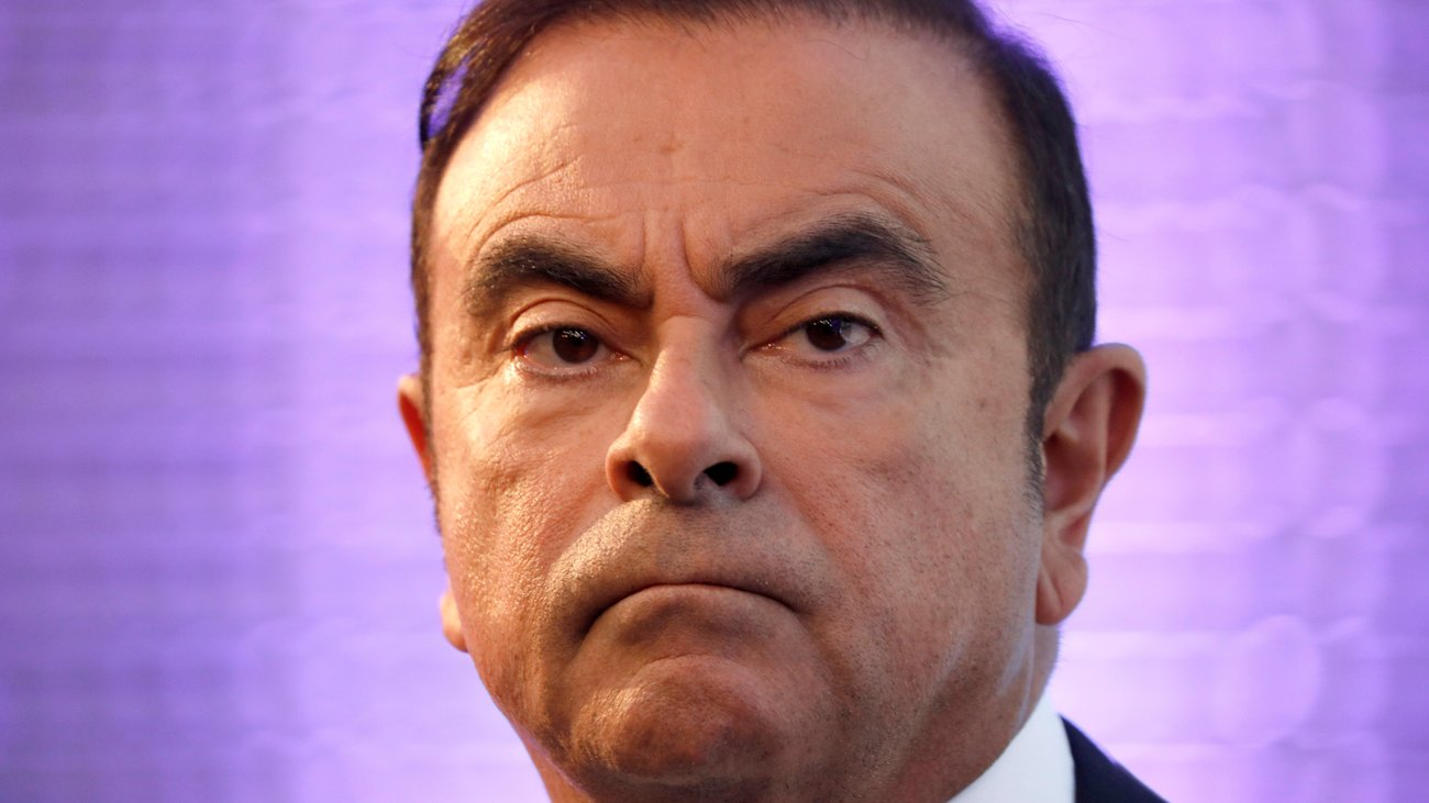 Former Nissan chief Carlos Ghosn charged, re-arrested