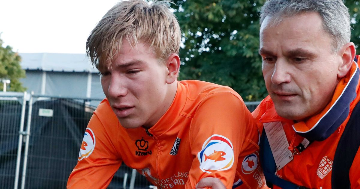 Shocked Nils Eekhoff questions UCI's consistency after DQ in road race