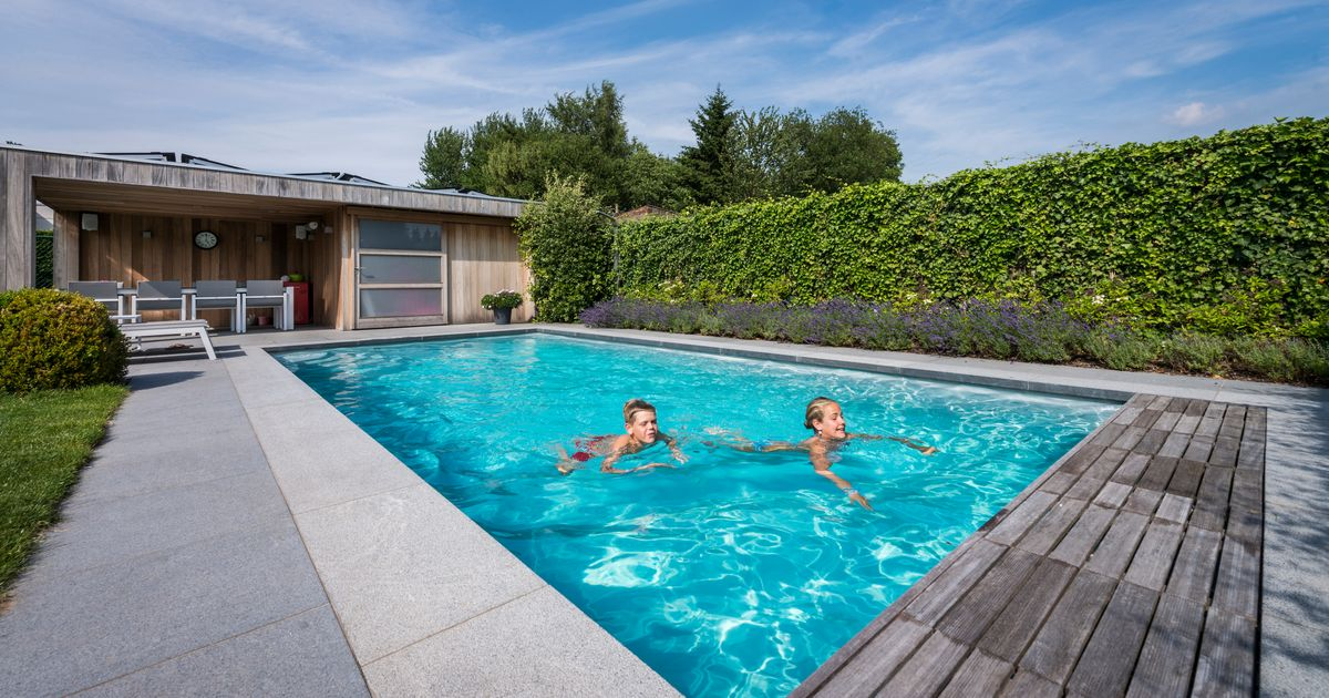 With a swimming pool in your yard? It is going to price you ...