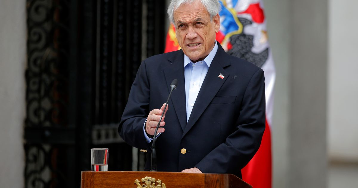 Chilean president replaces 8 ministers in response to protests