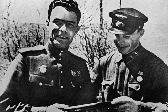 For that agent of the GPU Brezhnev took his first gun
