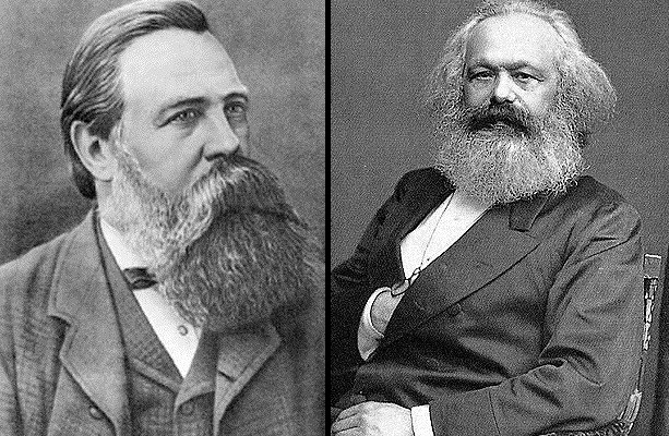 For what Marx and Engels did not like Russian