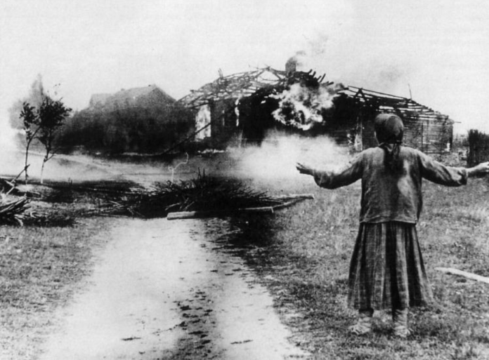 Massacre in dredge: what did the Soviet partisans in the Belarusian village