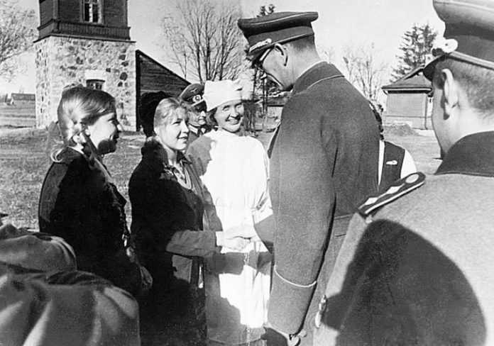 What happened to the German woman, who became the wife of the traitor Vlasov