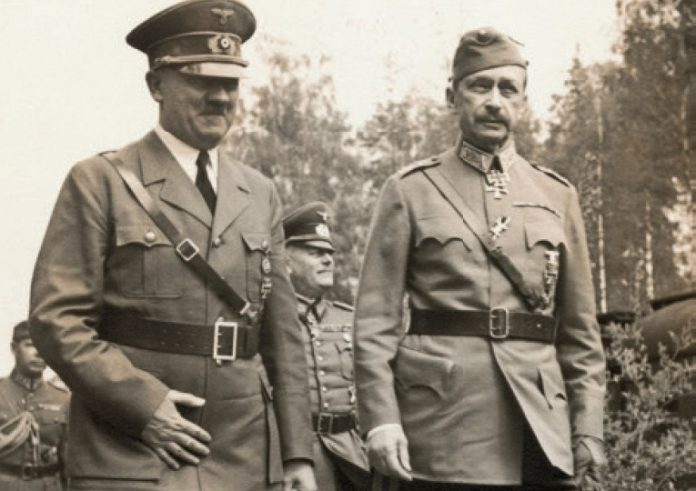 As Mannerheim influenced the fate of Leningrad in the Great Patriotic
