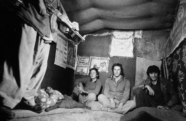 As Russian immigrants saved the Soviet prisoners of the Afghan war