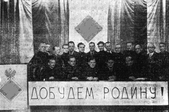 As the Russian fascists in China agitated the white Russians to war with the USSR