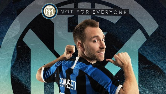 Eriksen was replaced by Tottenham at inter