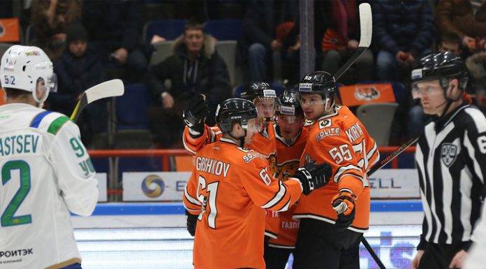 """Hockey """"the Cupid"""" for the second time in a row won """"Salavat Yulaev"""""""