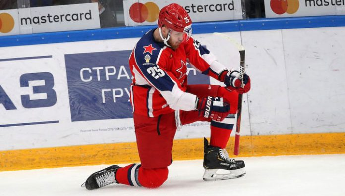 KHL. CSKA won the sixth match in a row, defeating Admiral Vladivostok