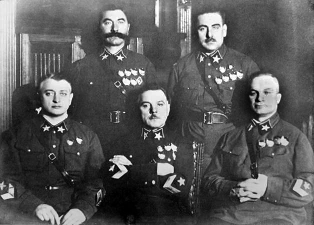 Like any generals most abused Marshal Zhukov