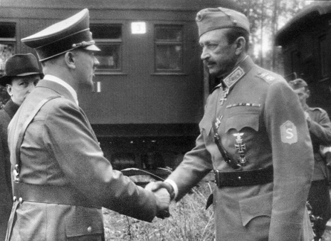 Mannerheim: as an officer of the army of Nicholas II participated in the siege of Leningrad