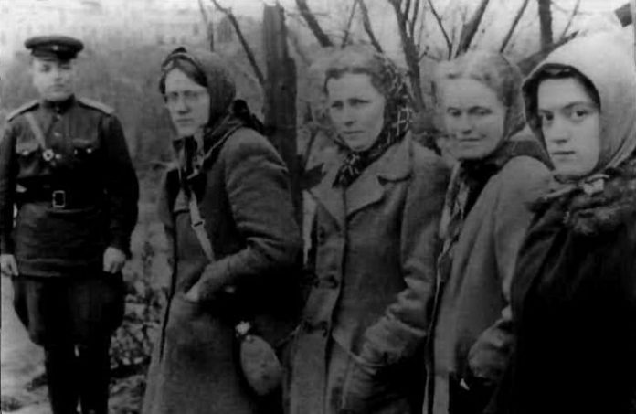 Partisan of Hitler: how he fought the German women against the red Army