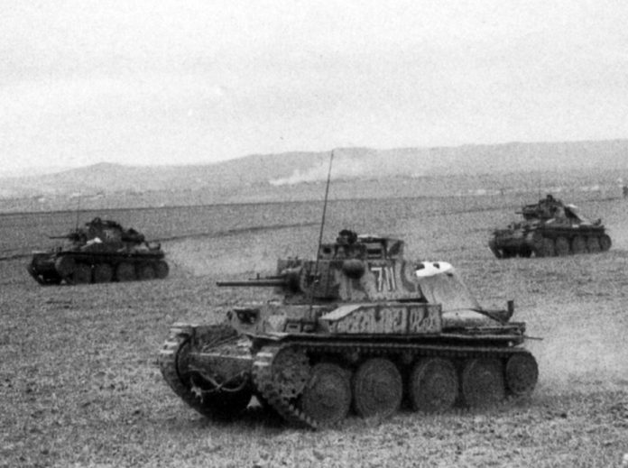 Pz.Kpfw.38: why the Germans attacked the Soviet Union on the Czech tanks