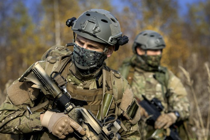 Some foreign weapons used by Russian special forces