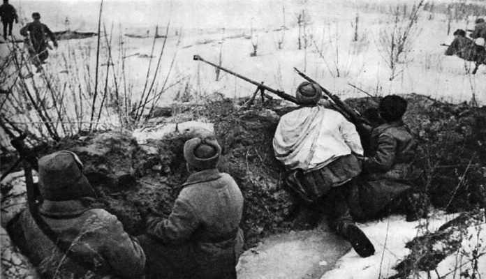 Stalin motivated the red army to fight