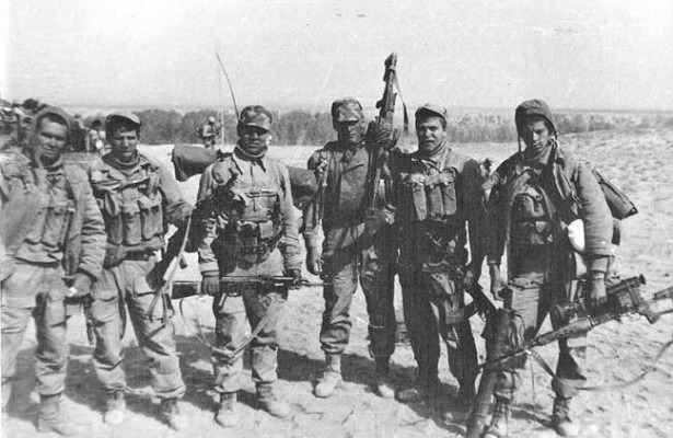 Than the Soviet special forces so scared of Afghan dushmans
