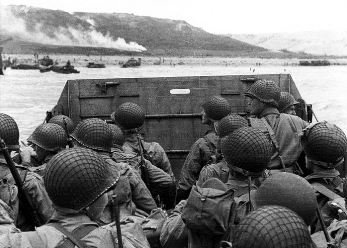 The allied landing in Normandy: why they met there with Caucasians