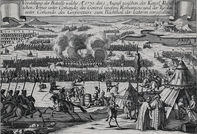 The battle of Kagul: as 17 thousand Russian broke 150 thousand Janissaries