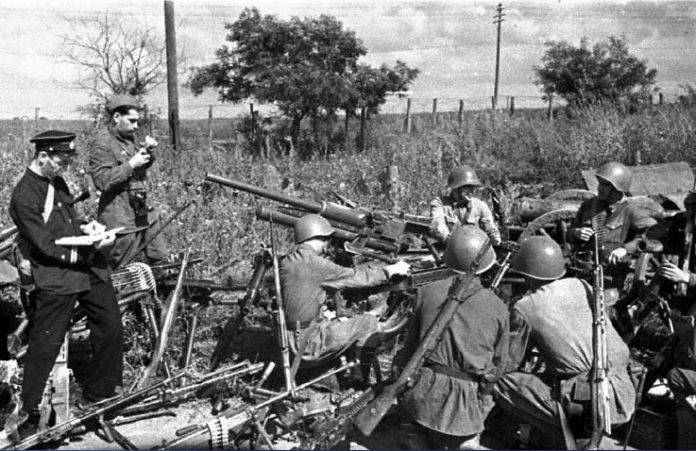 The defense of Odessa: the successful operation of the red Army in 1941