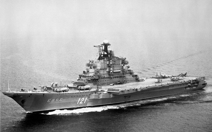 The first Soviet aircraft carrier: what was with the