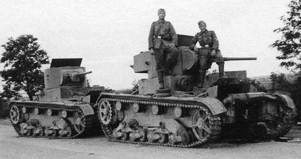The German tanks were worse than the Soviet