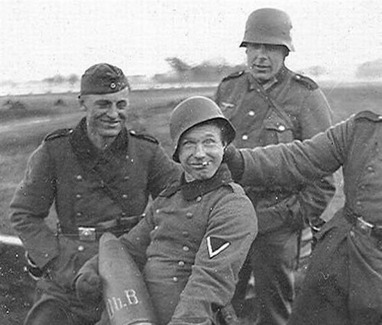 The most offensive nicknames, which were called the soldiers of the Wehrmacht
