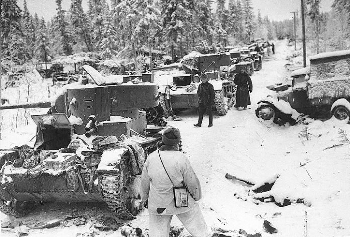 The strange ways of the struggle of the Finns against Soviet tanks