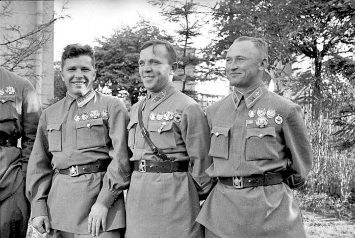 The youngest generals of the Soviet army