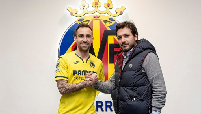 Villarreal announced the transition Alcacer from Borussia Dortmund