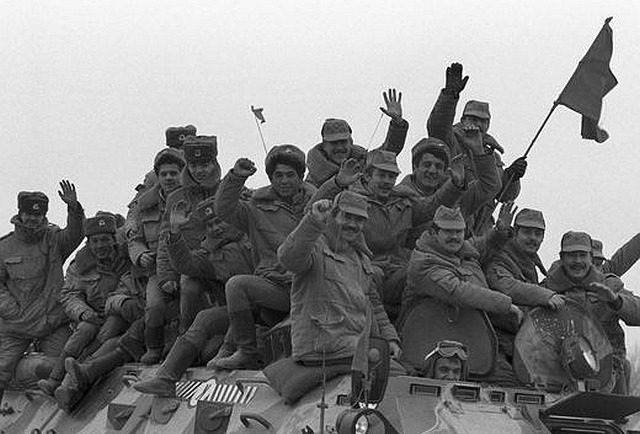 What a special lexicon invented the Soviet military in Afghanistan
