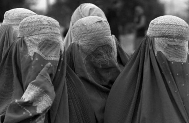 What Afghan women are shocked Soviet soldiers