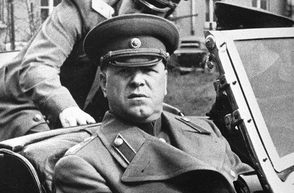 What are the aliases took Zhukov during the war