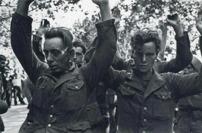 What Hitler's soldiers the soldiers did not take prisoners