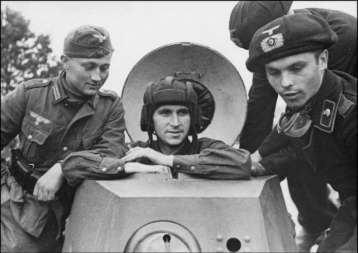 What in the USSR, studied German tank crews before the great Patriotic