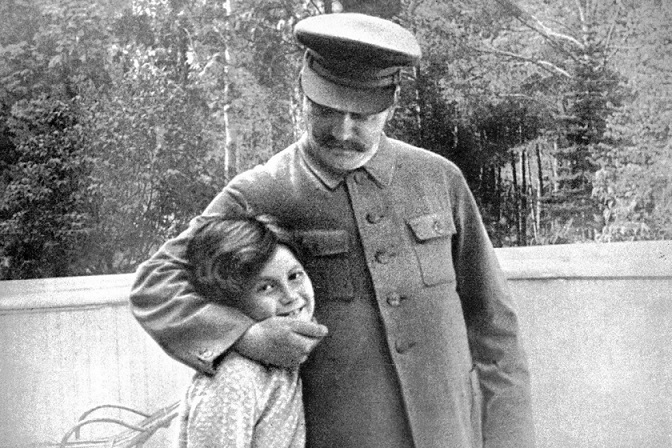 What Stalin put lover 16-year-old Svetlana Alliluyeva
