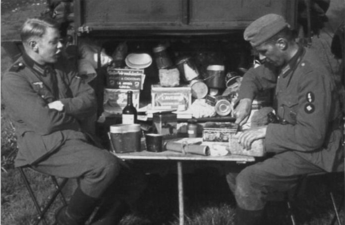 What surprised the soldiers of the red Army dry rations of German soldiers