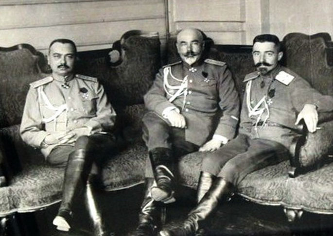 What the white generals in exile held the Red Army in the Great Patriotic
