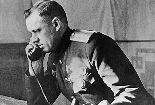 What was the nickname the Germans gave to Konstantin Rokossovsky