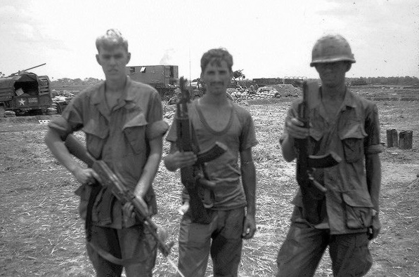 Why are Americans in Vietnam fighting the Soviet AK-47