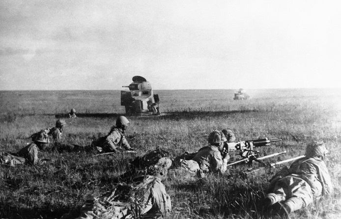 Why Japanese bombers could not stop the Red Army