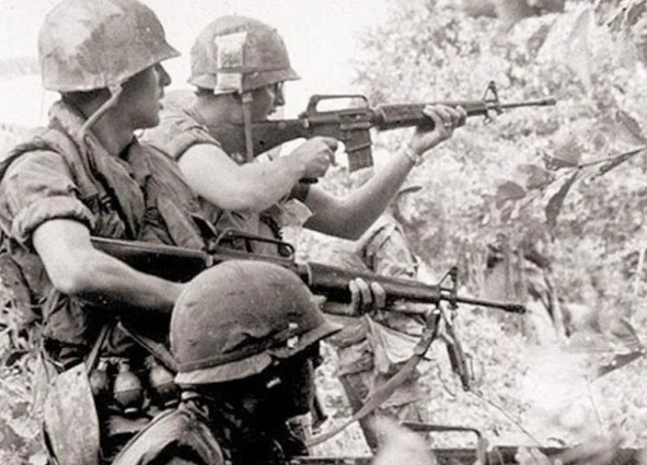 Why the American M16 rifle shoots better than the