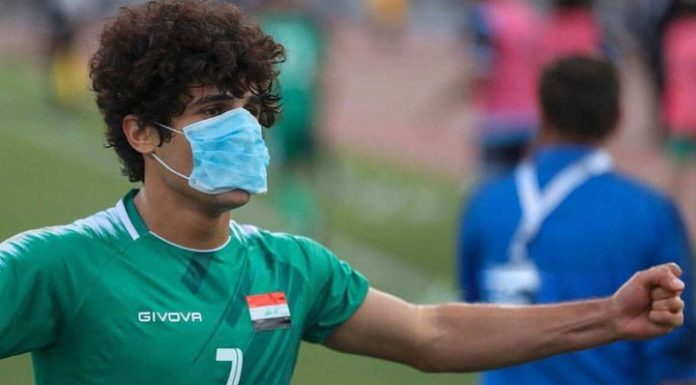 """""""Zenith"""" has aimed at players of the national team of Iraq"""