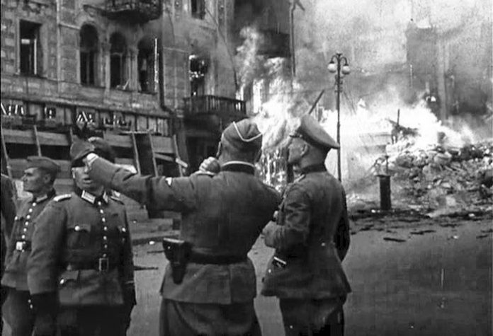 A terrible revenge the Germans for the destruction of Kiev in September 1941
