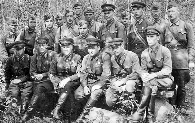 Against whom they fought the destroyer battalions of the NKVD