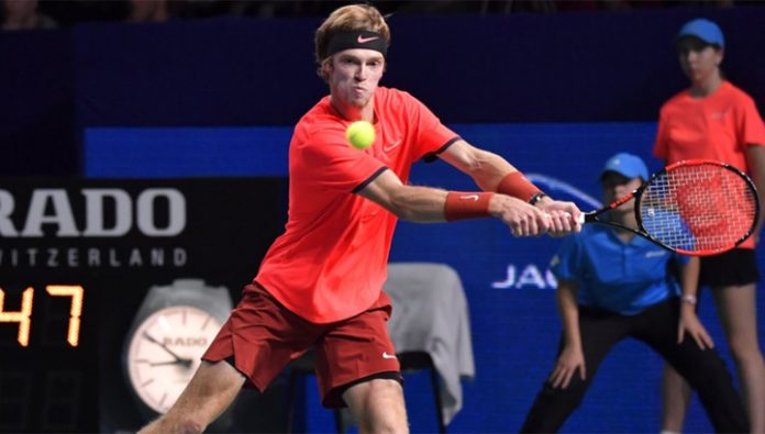 Andrei Rublev came out in the third round of the tournament in Rotterdam