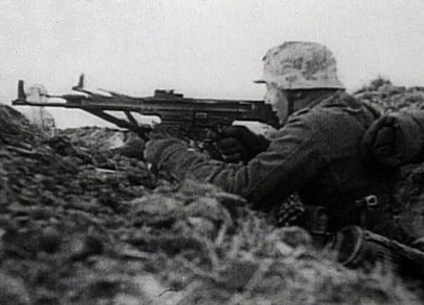 Any of the weapons the soldiers of the Wehrmacht it was dangerous to shoot