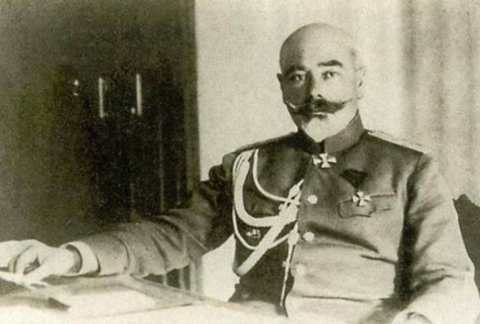 As General Denikin supported the Red Army in the Great Patriotic