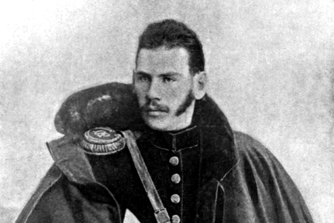 As Leo Tolstoy defended Sevastopol during the Crimean war